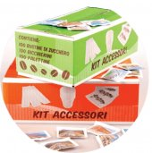 KIT ACCESSORI COLORATI PZ 100